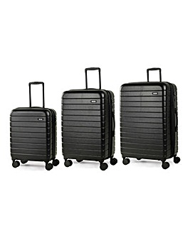 Rock Novo 3pc Luggage Set