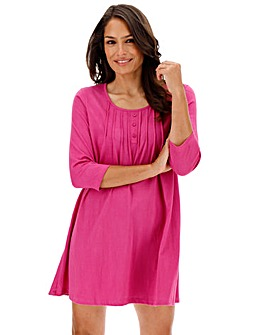 Pretty Secrets 3/4 Sleeve Jersey Nightie