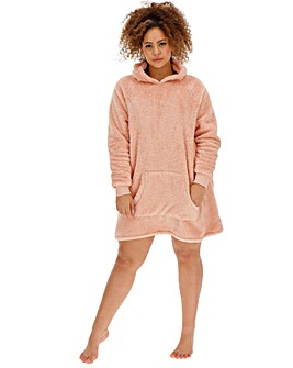 Pretty Lounge Snuggle Fleece Dress