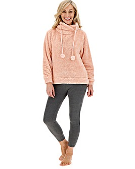 Pretty Lounge Snuggle Fleece Jumper