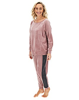 Pretty Lounge Velour Slouch Set