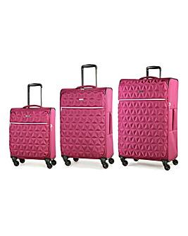 Rock Jewel 3 piece Luggage Set