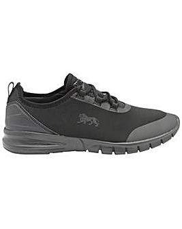 Lonsdale Zambia mens lace up trainers