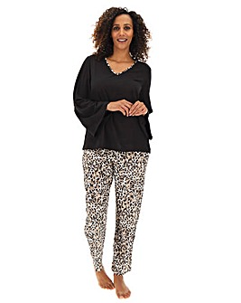 Pretty Secrets Long Sleeve Fluted Pj Set