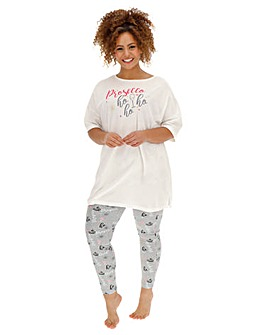 Pretty Secrets Christmas Legging Set