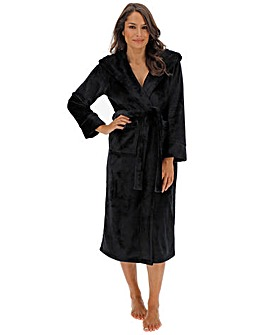 Pretty Secrets Luxury Hooded Fleece Gown