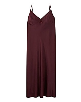 Pretty Secrets Satin Maxi Chemise