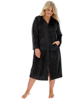 Pretty Secrets Velour Zip Gown L48