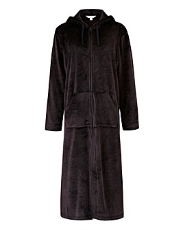 Pretty Secrets Velour Zip Gown L43