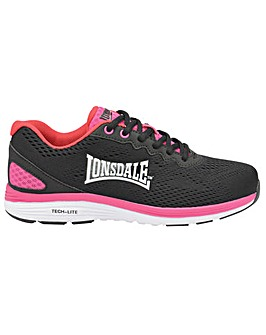Lonsdale Lisala ladies lace up trainers