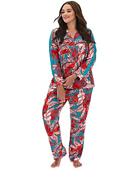 Pretty Secrets Viscose Button Through PJ