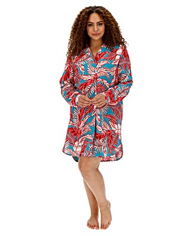 Pretty Secrets Button Through Nightshirt