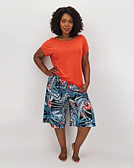 Pretty Secrets Viscose Culotte Set