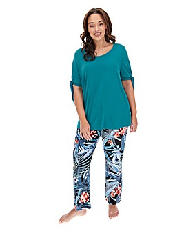 Pretty Secrets Viscose Pyjama Set