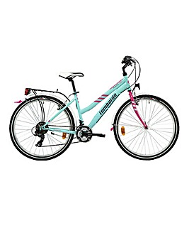 Lombardo Panarea City Ladies Hybrid Bike 17'' Frame 26'' Wheel