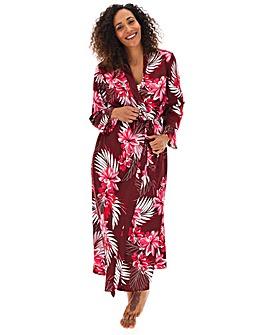 Pretty Secrets Satin Wrap Gown 51