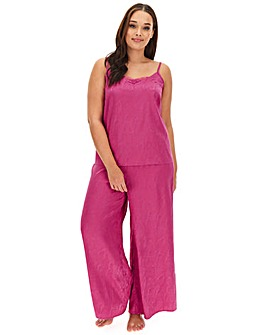 Pretty Secrets Jacquard Satin PJ Set