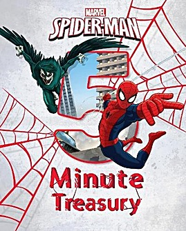 Marvel Spider Man 5 Minute Treasury Book