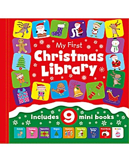 My First Little Christmas Library 9 Book