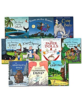 Julia Donaldson Collection 10 Books