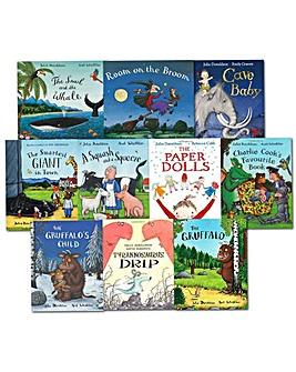 Julia Donaldson Collection 10 Books