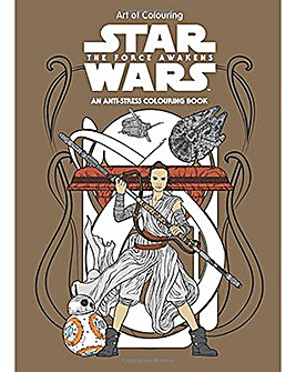 Star Wars Force Awakens Colouring Book