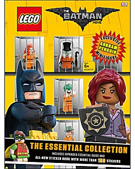 Lego Batman Essential Collection Book