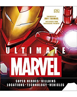Ultimate Marvel Book