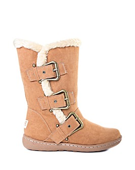 Pixie Daisy Fur Lined Boot