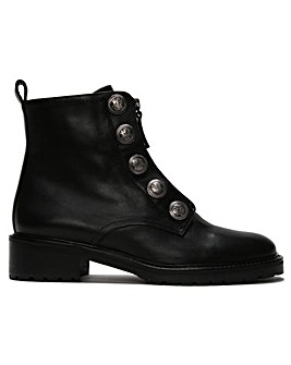Daniel Polina Embossed Studs Ankle Boots
