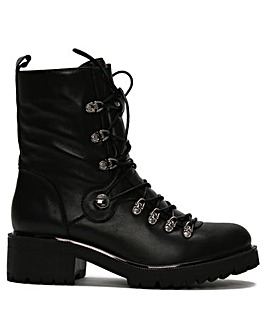 Daniel Plip Leather Biker Boots