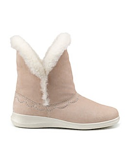 Hotter Cosy Bootie Slipper