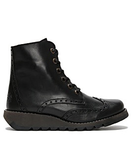 Fly London Marl II Lace Up Ankle Boots