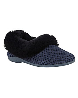 Lotus Nora Textile Slippers D Fit