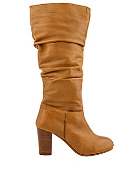 Monsoon Sophie Leather Slouch Boot
