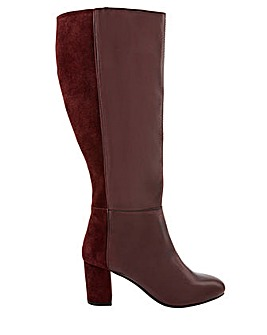 Monsoon Robyn Leather And Suede Boot