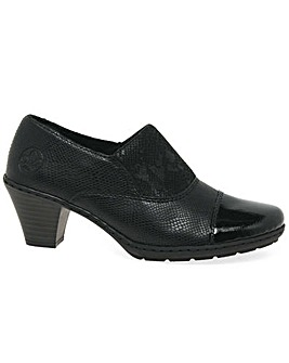 Rieker Tash Standard Fit Court Shoes