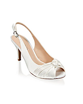 Paradox London Lexi Peep Toe Shoes