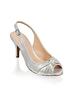 Paradox London Lexi Peep Toe Shoes
