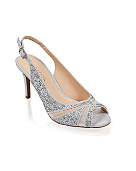 Paradox London Libra Peep Toe Shoes