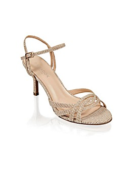 Paradox London Hersila Wide Fit Sandals