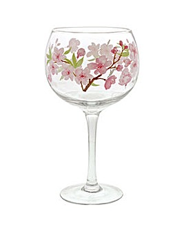 Ginology Cherry Blossom Copa glass