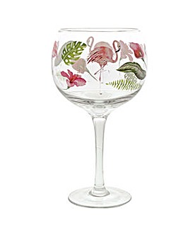 Ginology Flamingo Copa glass