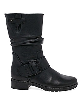 Gabor Diane Extra Wide Tall Biker Boots
