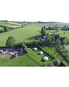 2 Night Devon Shepherds Hut Break for 4