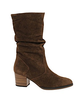 Gabor Ramona Wide Fit Calf-Length Boots