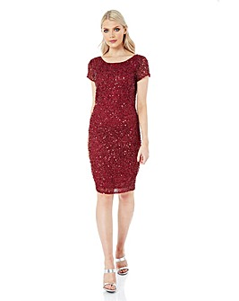 Roman Originals All Over Sequin Dress