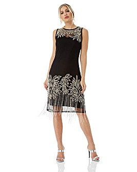 Roman Originals Embellished Flapper D...