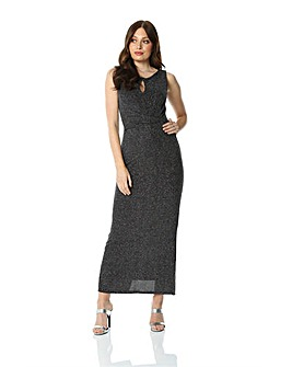 Roman Originals Glitter Maxi Dress