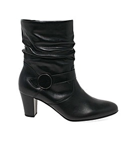 Gabor Maxie Wide Fit  Ruched Leg Boots